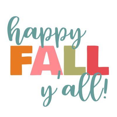 Happy Fall, Y'all